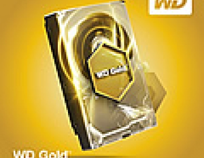 Western Digital Increases WD Gold Hard Drives Capacity
