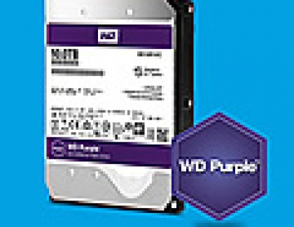 Western Digital Adds 10TB Model To Purple Surveillance-class Hard Drives