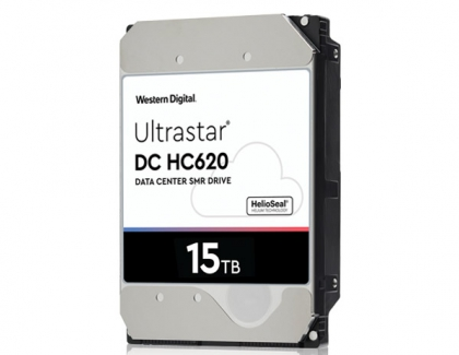 Western Digital Releases The 15TB Ultrastar DC HC620 SMR HDD