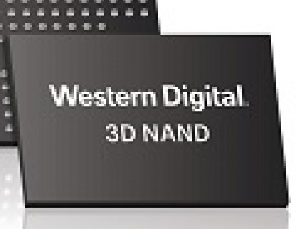 Western Digital Announces Four-bits-per-cell Technology On 3D NAND