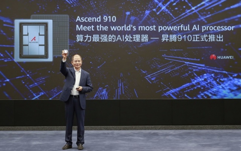 Huawei Says Ascend 910 is The World's Most Powerful AI Processor