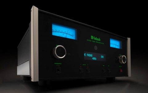 McIntosh's New Preamplifier Blends Vacuum Tubes With Digital Technology