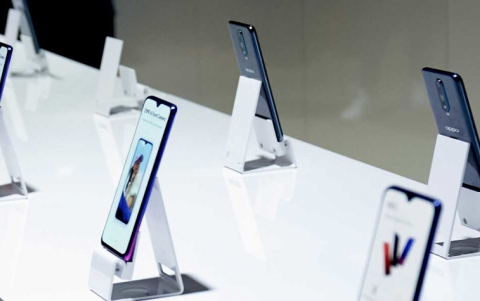 Oppo Showcases Underscreen Camera Technology