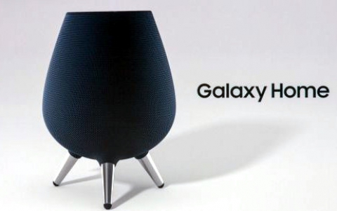 Samsung Showcases the Galaxy Home Mini AI Speaker