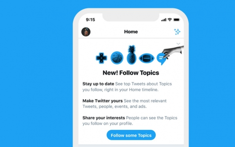 Twitter Officially Introduces Topics