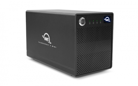 OWC Announces the ThunderBay 4 mini Data Storage Solution