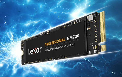 Lexar Announces New Professional NM700 M.2 2280 PCIe Gen3x4 NVMe SSD
