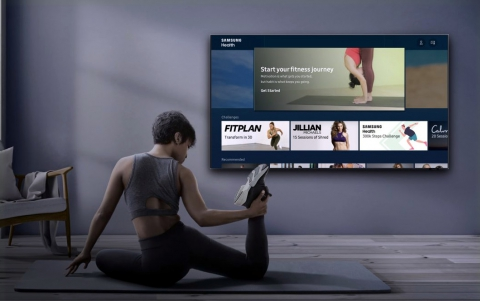 Samsung Health Now Available as an In-Home Fitness and Wellness Platform on 2020 Samsung Smart TVs