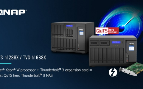 QNAP Releases TVS-h1288X/TVS-h1688X ZFS NAS