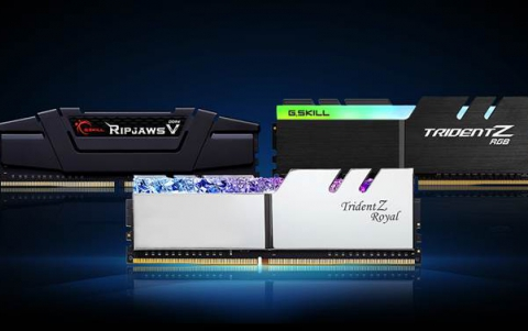 G.SKILL Releases New Low-Latency DDR4-4000 CL16 and DDR4-4400 CL16 Memory Kits