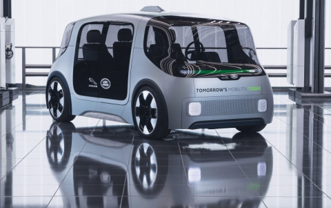 Jaguar and Rover Unveil New Concept Vehicle For Urban Mobility
