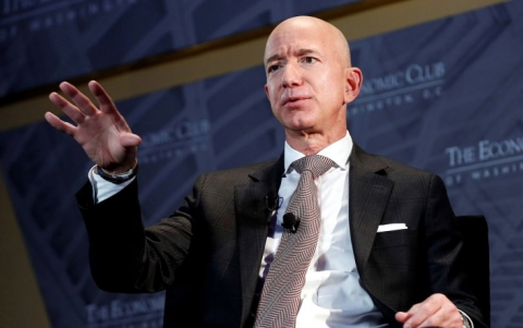 Amazon's Boss Pledges $10 Billion Toward Solving Climate Change