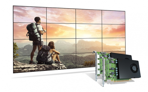 Matrox Introduces The D-Series Graphics Cards for Video Walls