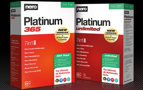 Nero Announces Platinum 365 & Nero Platinum Unlimited