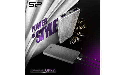 Quad-Engine Speed Power With The QP77 Power Bank