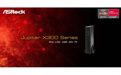 ASRock Launches 1L Jupiter X300 Mini PC