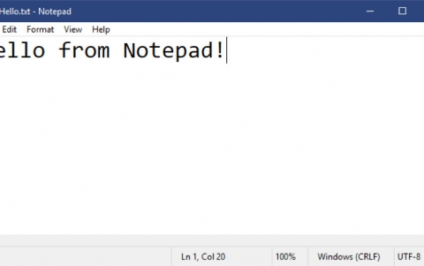 Latest Windows Build Improves the Notepad