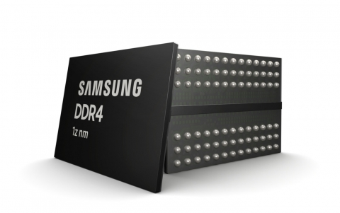 Samsung Develops 3rd-generation 10nm-Class 8Gb DDR4 for Premium Memory Applications