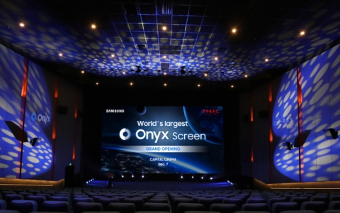 Samsung Unveils 14-Meter-Wide Onyx Cinema LED Screen at Beijing Capital Cinema   China