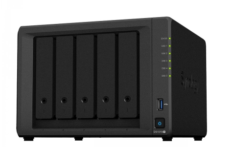 Synology Introduces the DiskStation DS1019+ NAS for Homes and Small Businesses