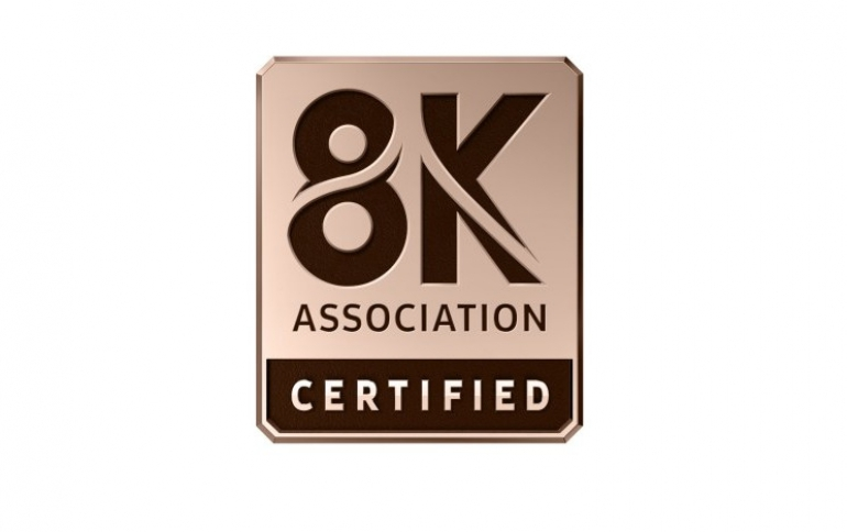 8K Association Certified Program Now Available for High Performance 8K TVs