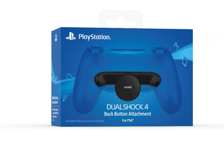 Sony Introduces the the DualShock 4 Back Button Attachment