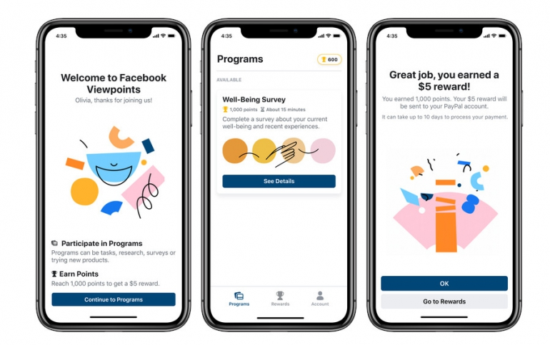 Facebook Viewpoints Will Pay You For Participating in Surveys