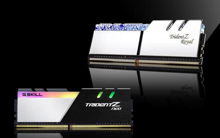 G.SKILL Releases New DDR4 32GB Module Specs with Memory Kits Up to 256GB