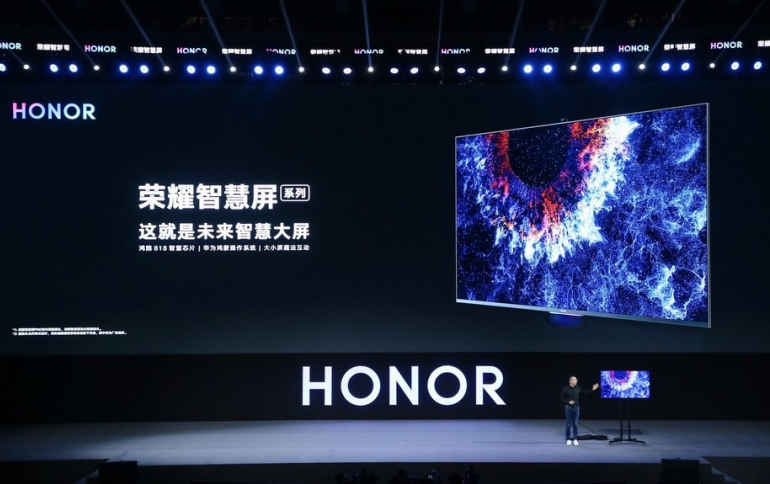 HONOR Launches HONOR Vision Smart screen Equipped with HarmonyOS