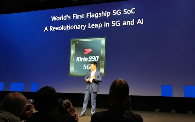 Huawei Says New Kirin 990 Mobile Chipset Is The World's Most Powerful