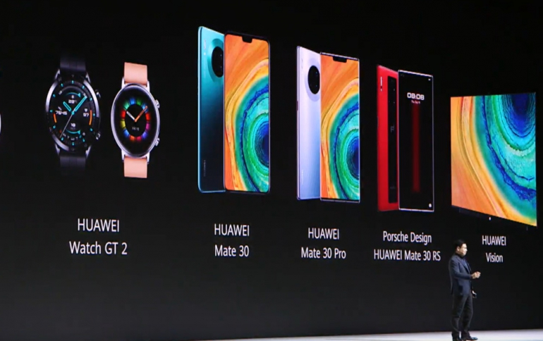 Huawei Announces the Watch GT 2 and New 4K Vision TV