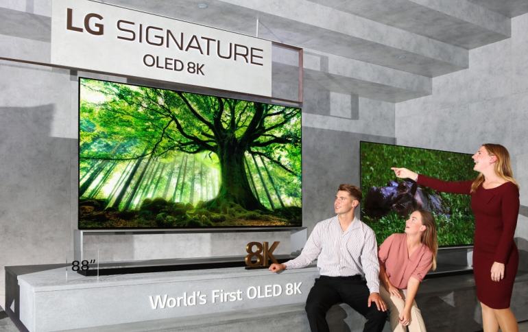 LG 8K OLED and Nanocell TVs Rollout Globally