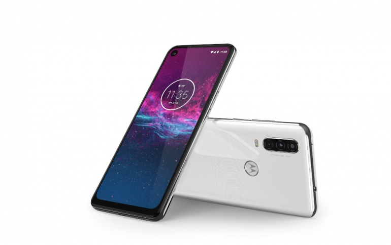 Motorola One Action Comes With a 117º Ultra-wide Action Cam
