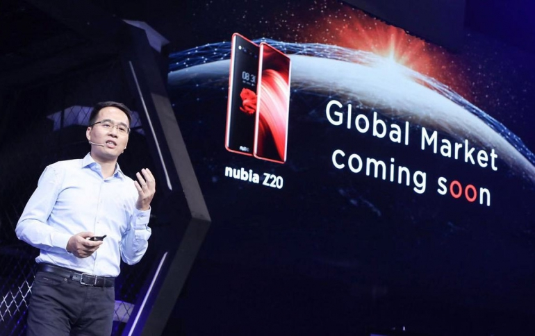 Nubia Z20  Will come With Dual Screens