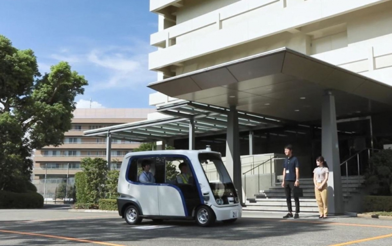 Panasonic to Launch Ride-sharing Service With Autonomous Vehicles
