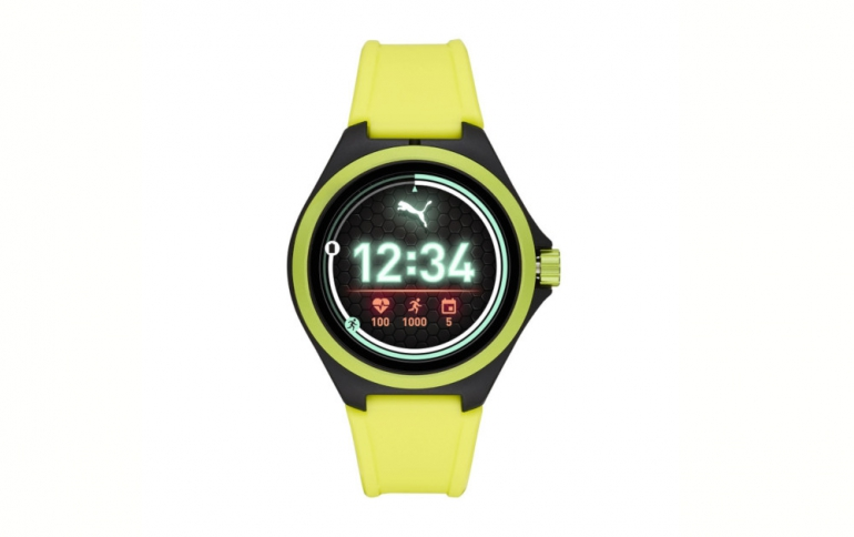 PUMA Unveils its First Smartwatch