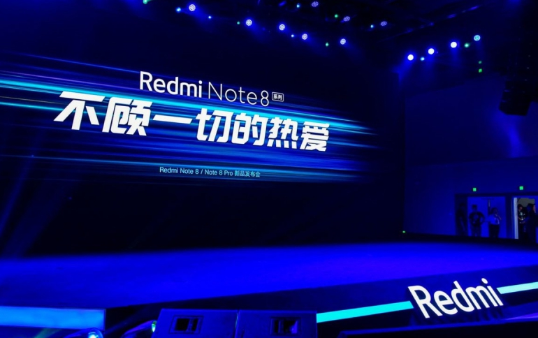 Redmi on a Roll – Redmi Note 8 Pro With a 64-megapixel Camera, Redmi TV and New RedmiBook
