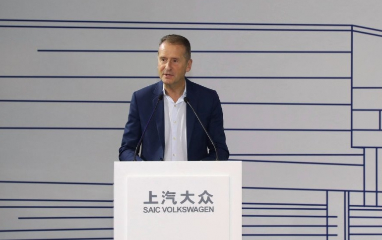 Volkswagen Starts Pre-production of Electric Car Plant in Shanghai
