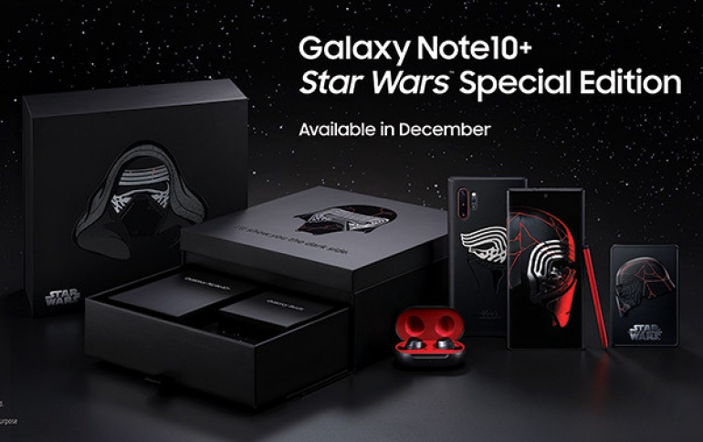 Samsung Announces Galaxy Note10+ Star Wars Special Edition