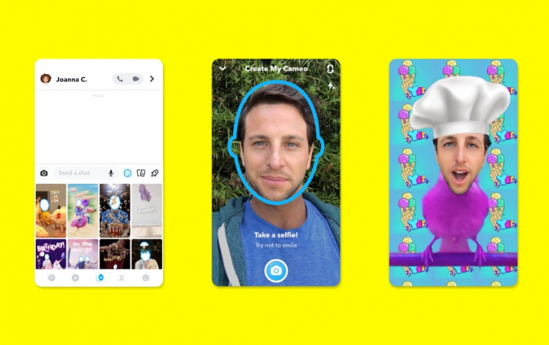 Snap Introduces Cameos