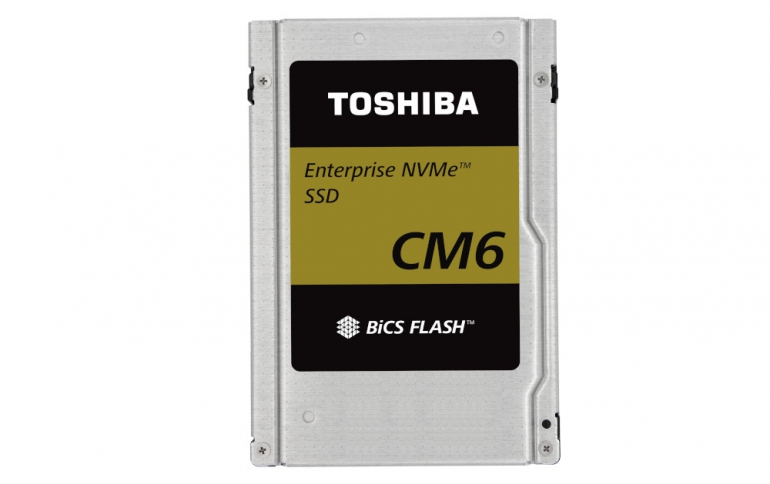 Toshiba Showcases the CM6 Series of PCIe 4.0 SSDs at Flash Memory Summit