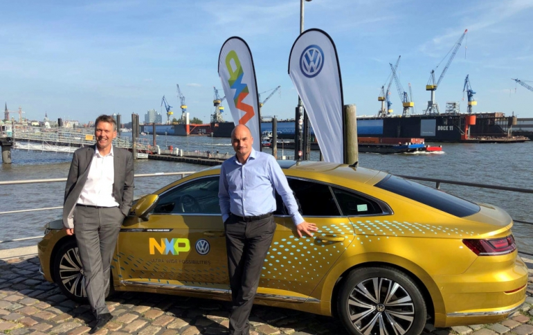 Volkswagen Showcases Car that Uses UWB For More Secure Connectivity