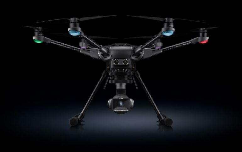 Leica and Yuneec Develop the Typhoon H3 Multicopter Camera
