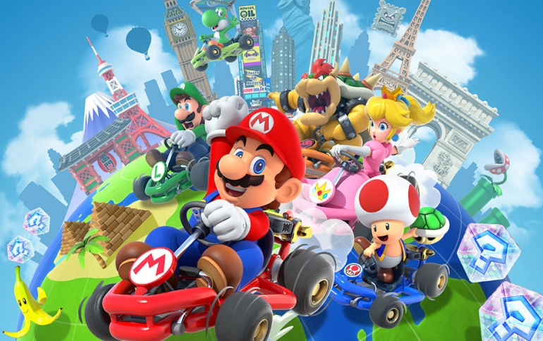 Nintendo Mario Kart Tour Has 123.9 Million Downloads in Its First Month