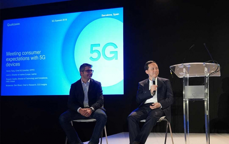 OPPO to Launch Qualcomm-powered Dual-mode 5G Smartphone This Year