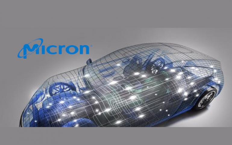 Micron and Valens Demonstrate SSD For Future Connected Cars