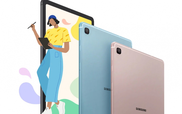 Samsung Unveils The Galaxy Tab S6 Lite Tablet