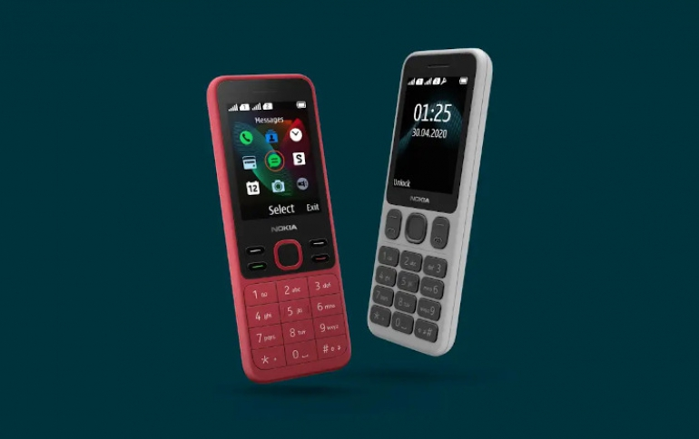 HMD Introduces the Nokia 125 and Nokia 150 Feature Phones