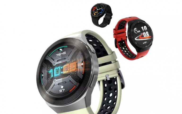 Huawei Unveils the Watch GT 2E Smartwatch