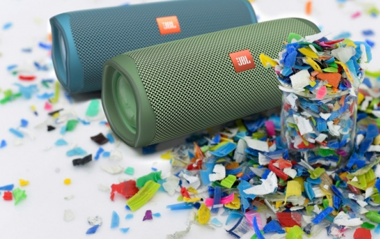 Special-Edition JBL Flip 5 Eco is made from 90 Percent Recycled Plastic
